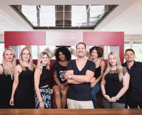 Das Team der Cut Lounge Friseure Rosenheim. Die wohl besten Friseure in Rosenheim.